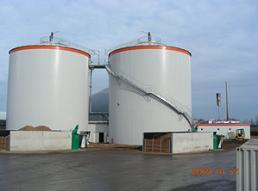 Anaerobic digesters Falkenstein, Germany